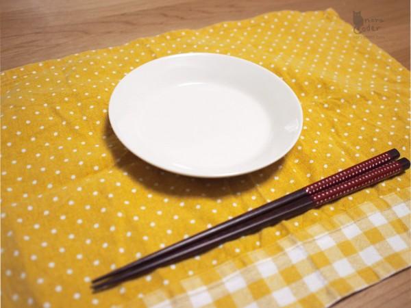 お箸と比較