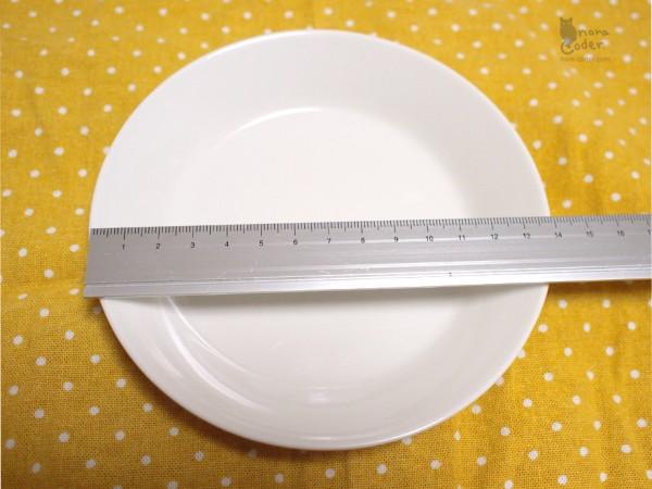 15cmプレート