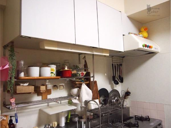 MTで真っ白キッチン