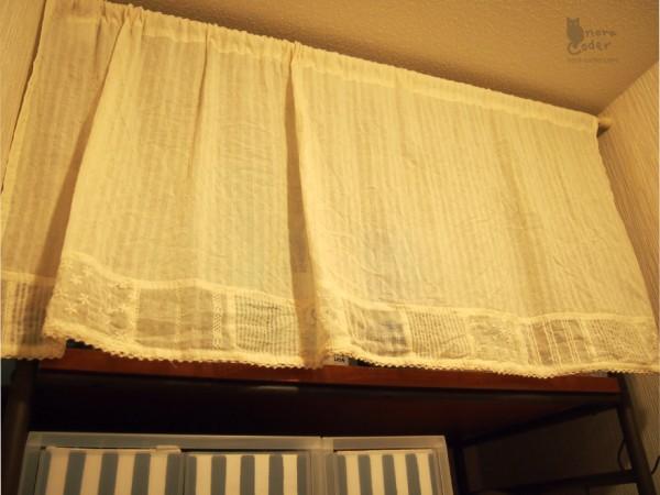 3COINSのカーテン