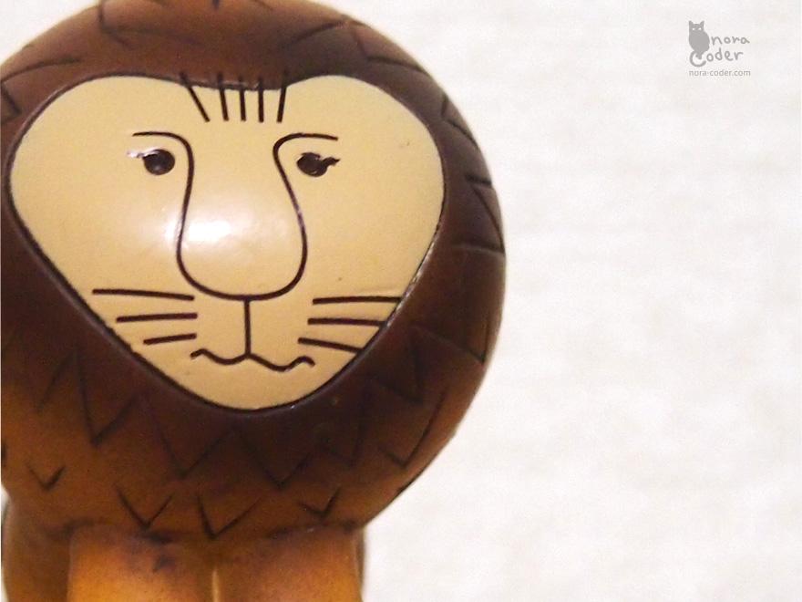 リサ・ラーソン ライオン
