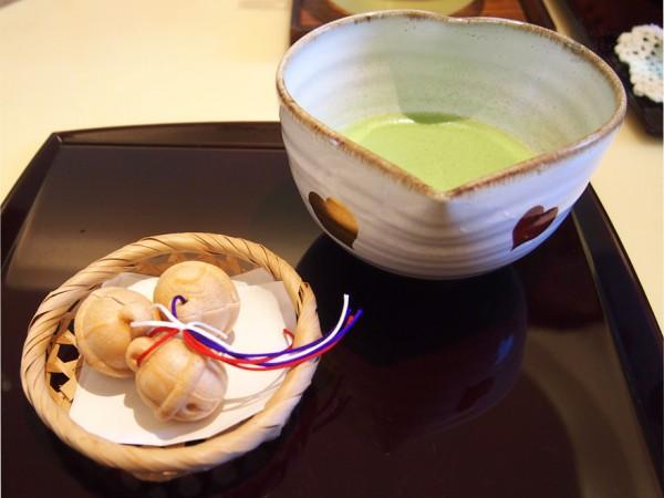 八里とお抹茶