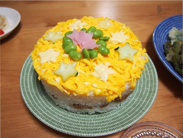 すしケーキ