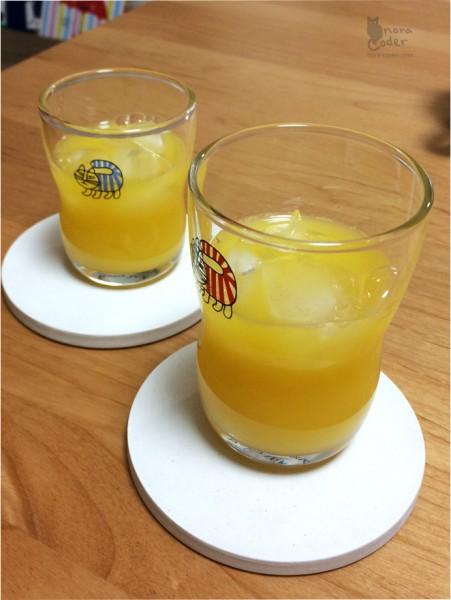 オレンジジュース!